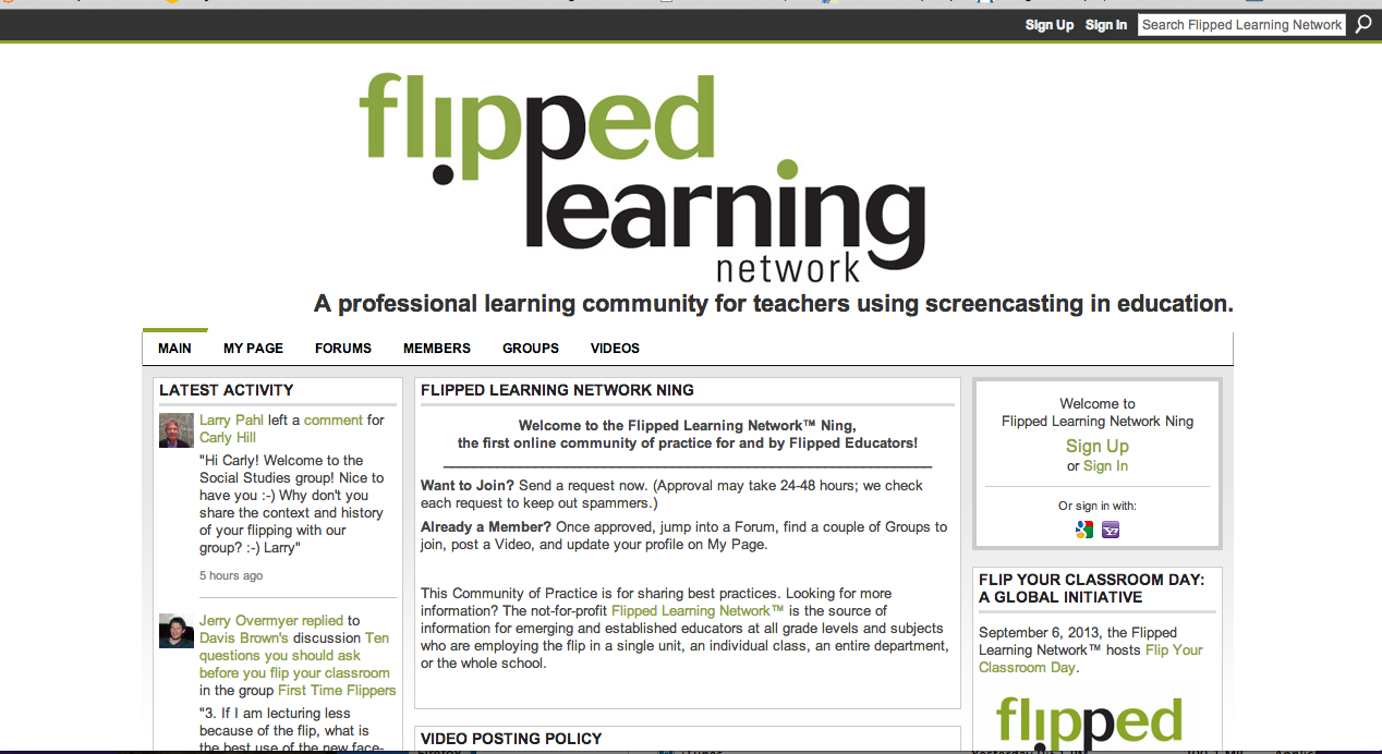 The Flipped Classroom - Powtoon