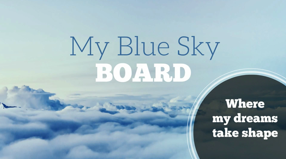 how to make the most mind blowing vision board in just 4 steps, Powerpoint templates