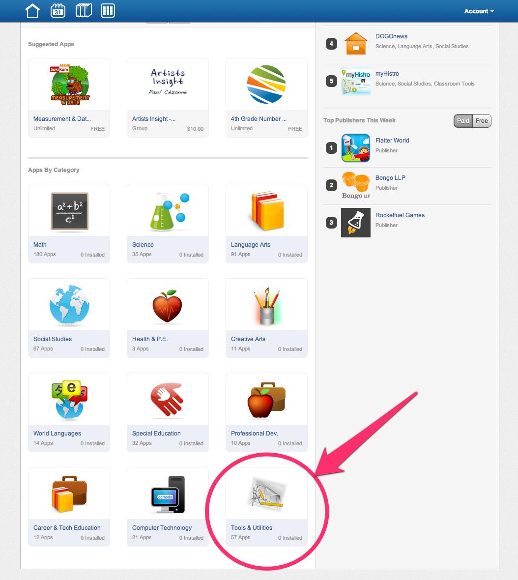 Edmodo App Install