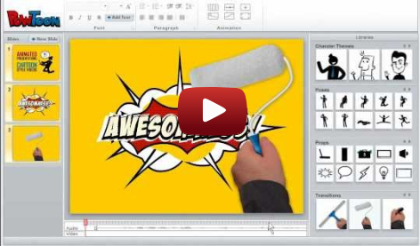 Powtoon offers the best free animation software