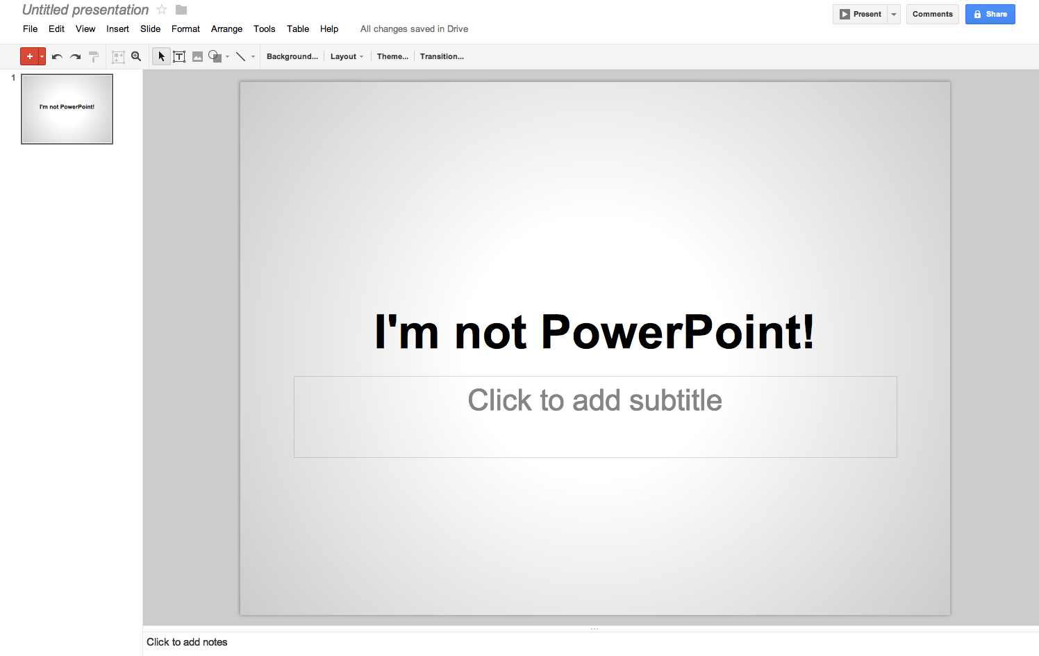 google drive presentations one of the best free powerpoint alternative